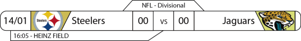 TPFA - NFL - Playoffs - 2017-01-14 - Divisional AFC - Steelers x Jaguars
