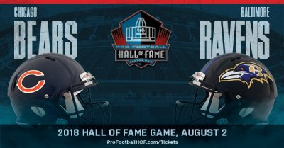 Pro Football Hall of Fame Game - Chicago Bears x Baltimore Ravens