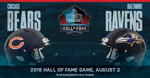Pro Football Hall of Fame Game - Chicago Bears x Baltimore Ravens