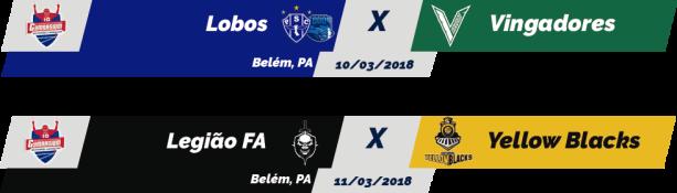 TPFA - Campeonato Paraense - 2018-03-11 - Jogos