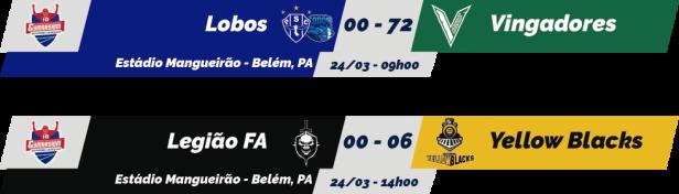 TPFA - Campeonato Paraense - 2018-03-24 - Resultados