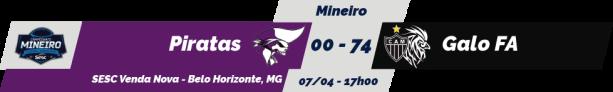 TPFA - Mineiro SESC - 2018-04-07 - Resultado