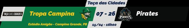 TPFA - Taça das Cidades - 2018-04-15 - Resultado