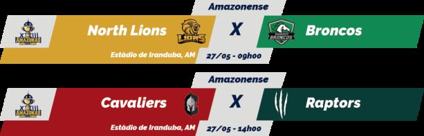 TPFA - 2018 - Amazonas Bowl XIII - 2018-05-27 - Jogos