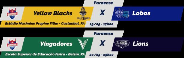 TPFA - Campeonato Paraense - 2018-05-20 - Jogos