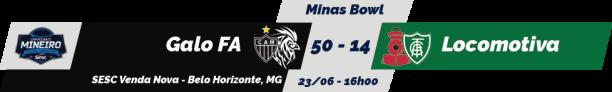 TPFA - Mineiro SESC - 2018-06-23 - Minas Bowl - Resultado