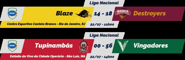 TPFA - Liga Nacional - 2018-07-22 - Resultados
