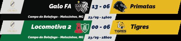 TPFA - Copa Ouro - 2018-09-23 - Resultados