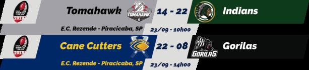 TPFA - Taça 9 de Julho - 2018-09-23 - Resultados