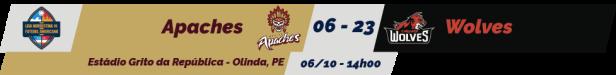 TPFA - Liga Nordeste - 2018-10-06 - Resultado