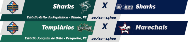 TPFA - Liga Nordeste - 2018-10-20 - Jogos
