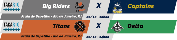 TPFA - Taça Rio - 2018-10-21 - Jogos