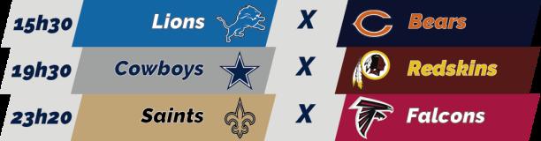 TPFA - NFL - 2018-11-22 - Semana 12 - Thanksgiving