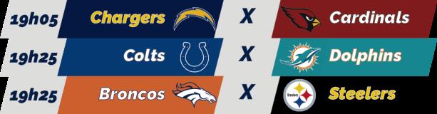 TPFA - NFL - 2018-11-25 - Semana 12 - Jogos 19h