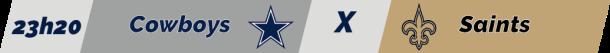 TPFA - NFL - 2018-11-29 - Semana 13 - Thursday Night Football - Cowboys x Saints
