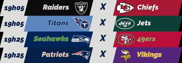 TPFA - NFL - 2018-12-02 - Semana 13 - Jogos 19h