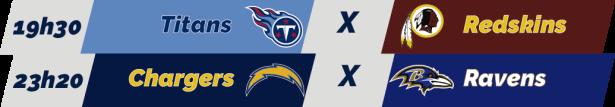 TPFA - NFL - 2018-12-22 - Semana 16 - Jogos Sábado